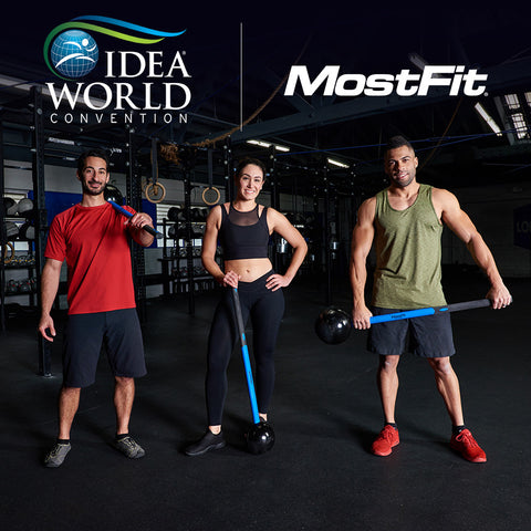 MostFit Core hammer and Functional training equipment at the IDEA conference