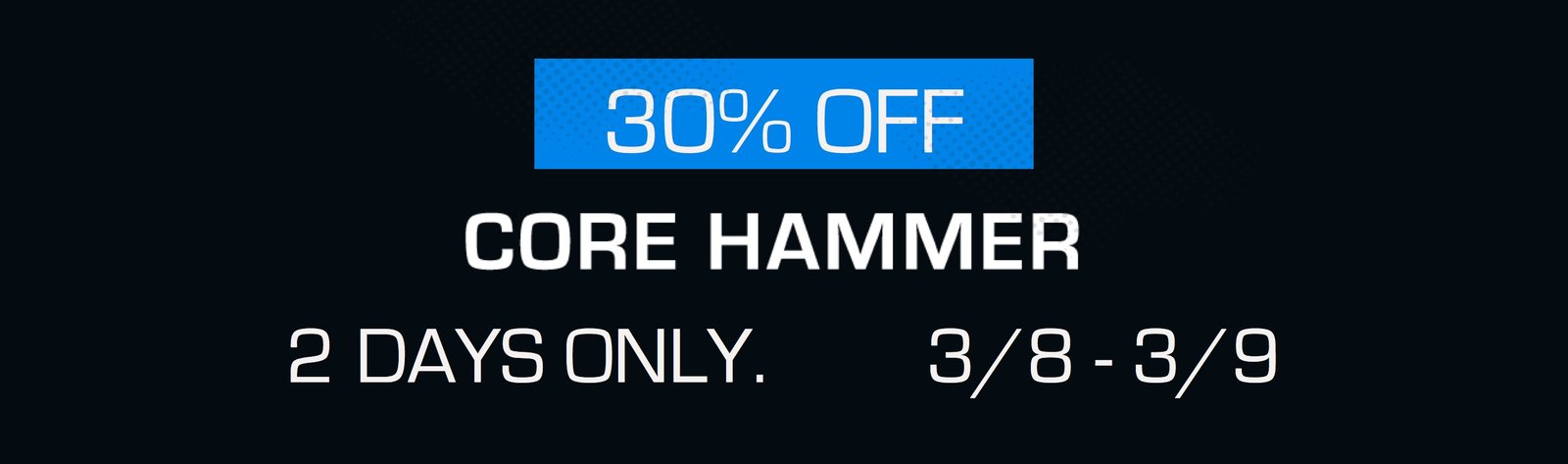 Holiday Hammertime Sale at MostFit with 15% off Core Hammer and SYN Rings functional Training equipment