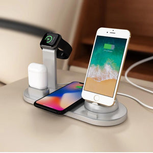 4-in-1 Smart-Tech Fast-Charging Station