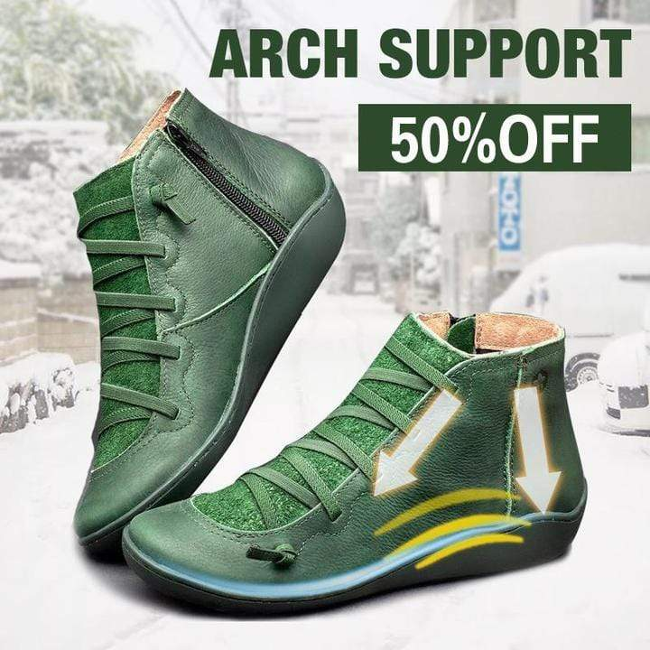 ARCH SUPPORT BOOTS (UPGRADED VERSION)