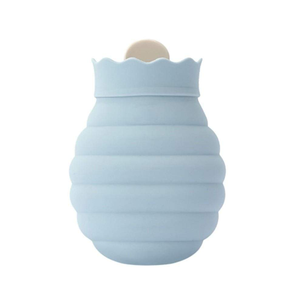 Silicone Hot Water Bag for Pain Relief Hot Cold Therapy with Knit Cover