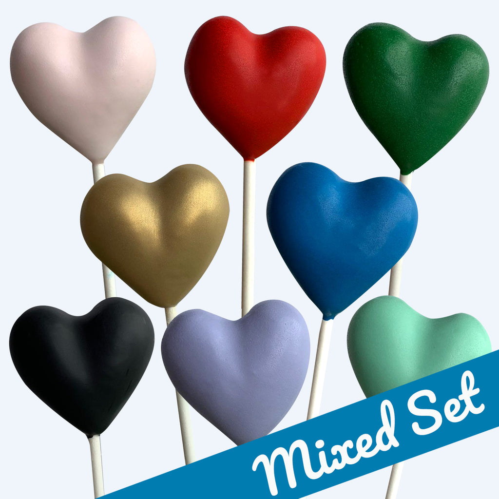 Mixed Set : Valentines Hearts
