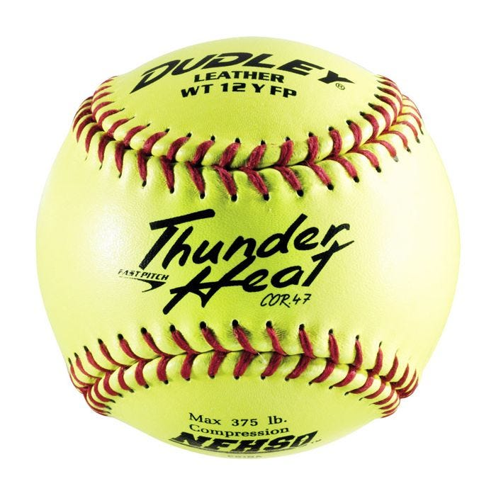 Dudley Thunder Heat NFHS 43-147 Fastpitch Softball 12""