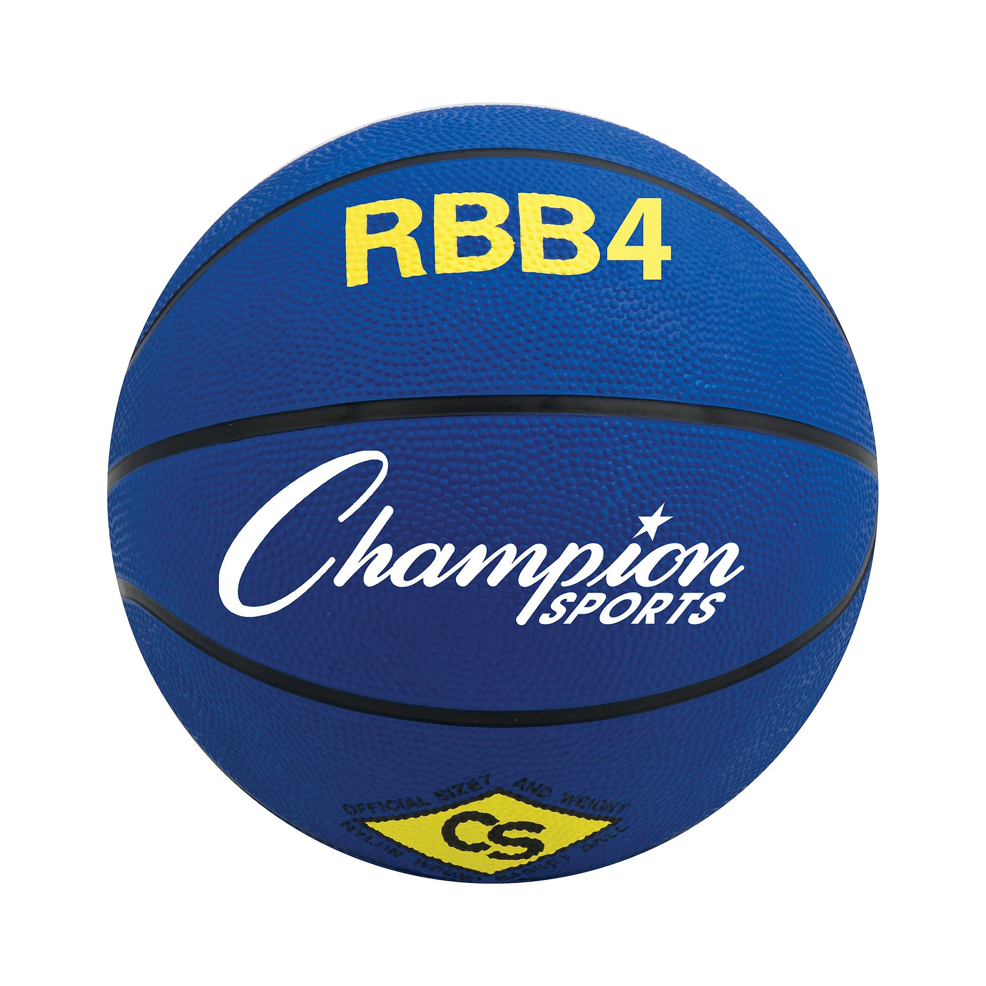 Champion Sports Intermediate Rubber Basketball - RBB4