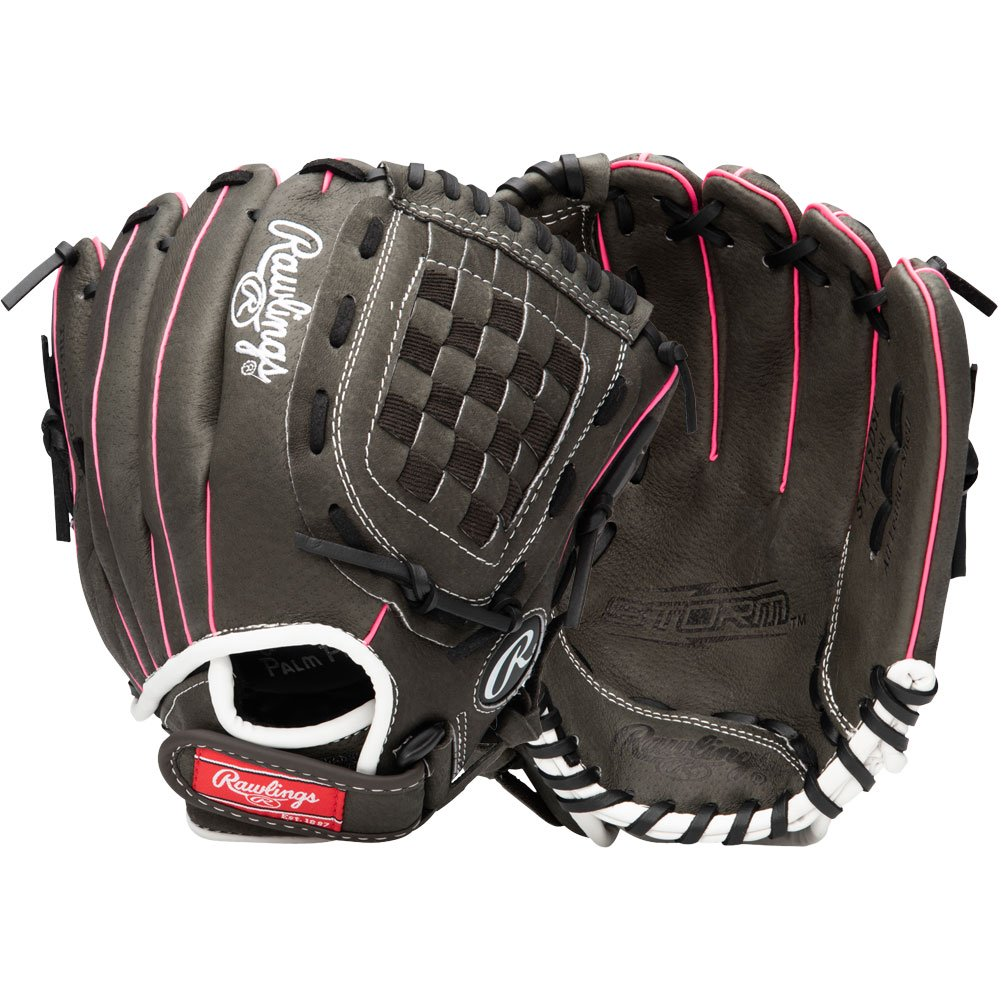 Rawlings Youth Storm 11.5 Inch Fastpitch Softball Glove Basket