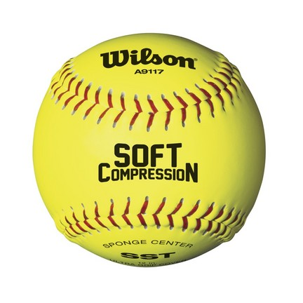 Wilson A9117 Soft Compression Softballs
