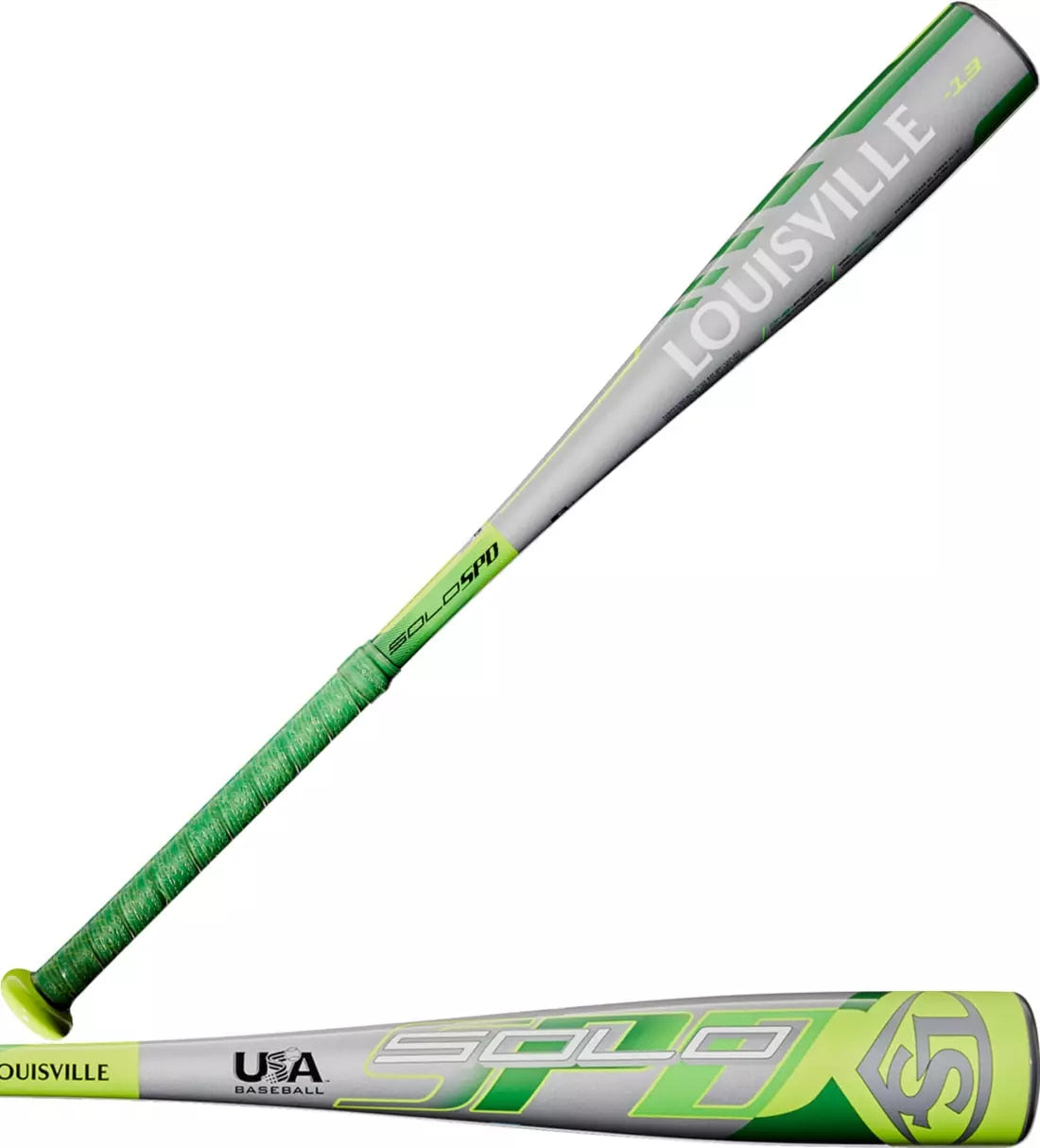 Louisville Slugger Solo SPD USA Youth Bat 2020 (-13) WTLUBSSM1320