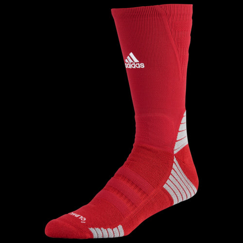 adidas unisex Alphaskin Maximum Cushioned Crew Socks