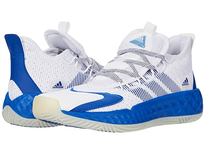 ADIDAS UNISEX ADULT COLL3CTIV3 2020 LOW BASKETBALL SHOE, WHITE/ROYAL BLUE/WHITE