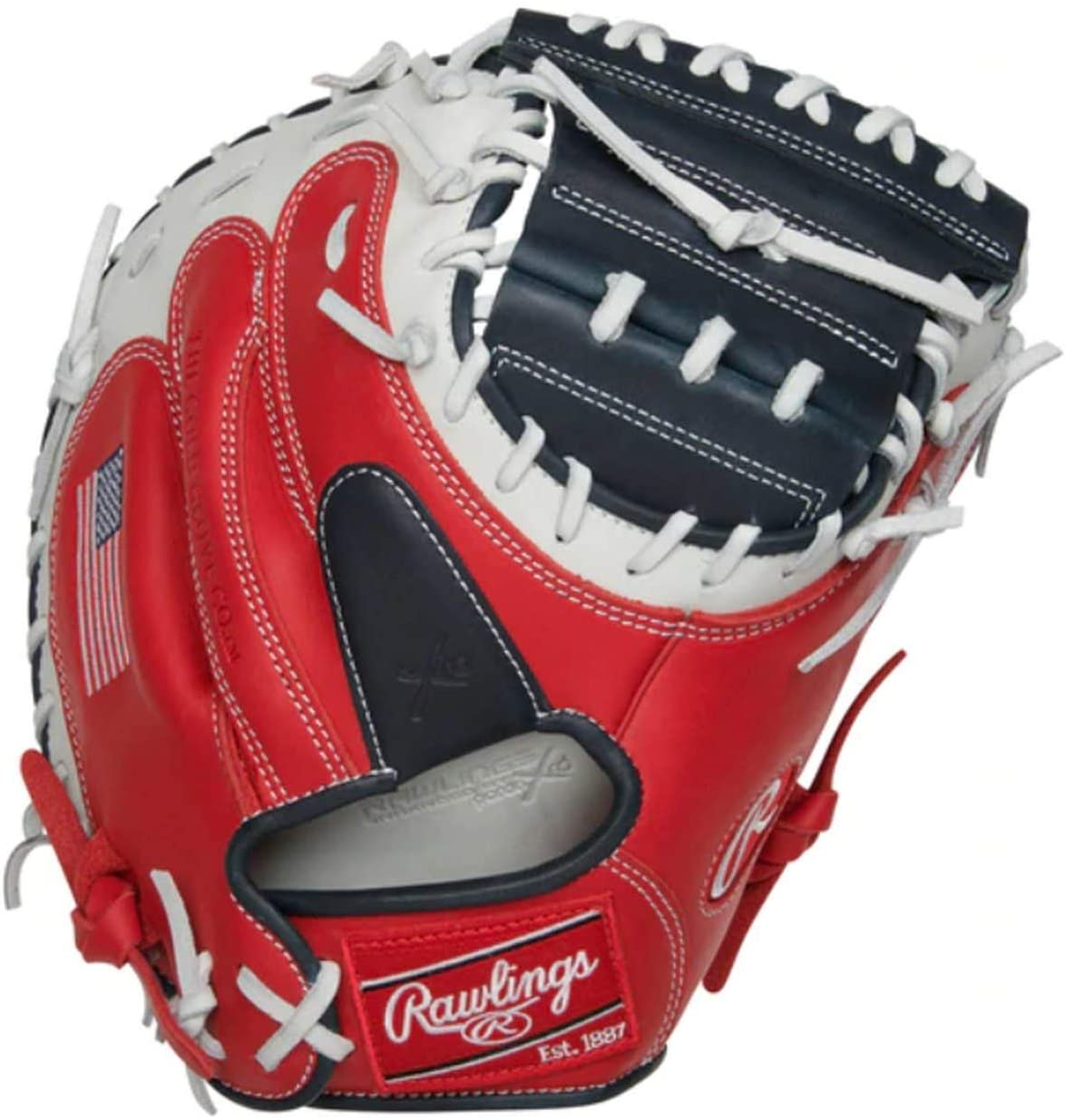 "Rawlings Gamer XLE USA Edition 33"" Catcher`S Mitt (GXLECM33USA)"