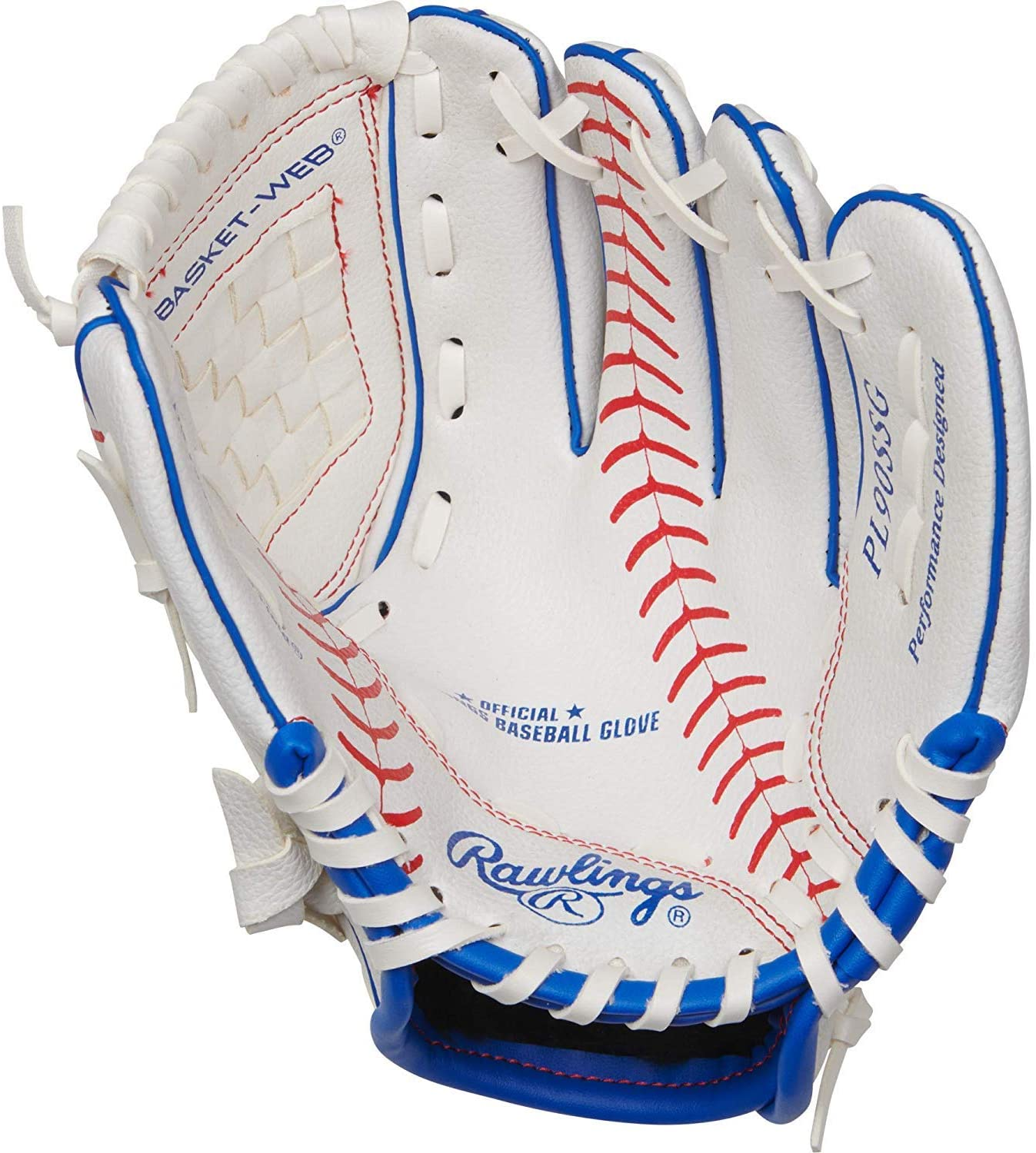"Rawlings Players Series 9"" Youth Baseball/T-Ball Glove - PL90SSG-12/0"