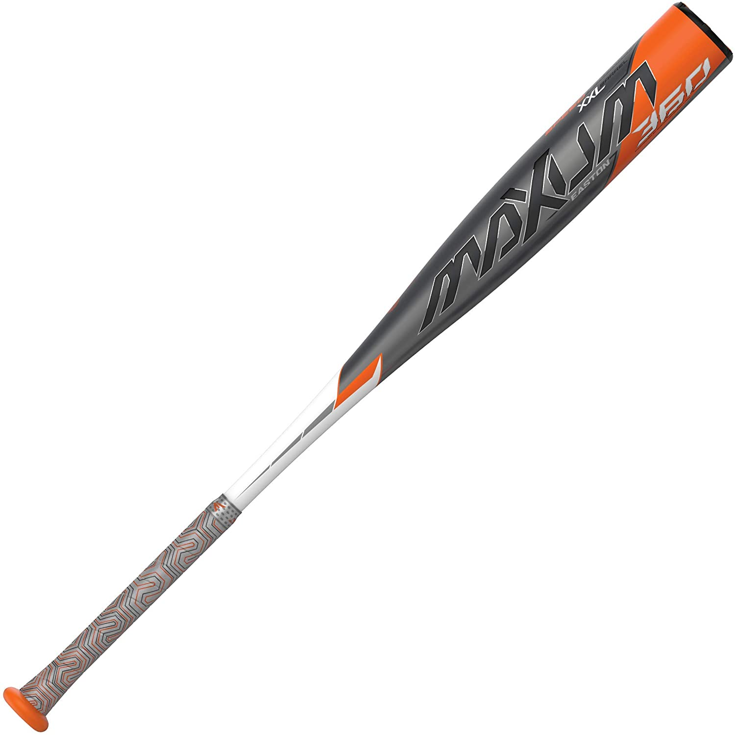 EASTON MAXUM 360 -3 BBCOR Baseball Bat | 2 5/8 inch XXL Barrel | 2020 | 1 Piece Composite | Seamless Carbon Construction | XXL Barre