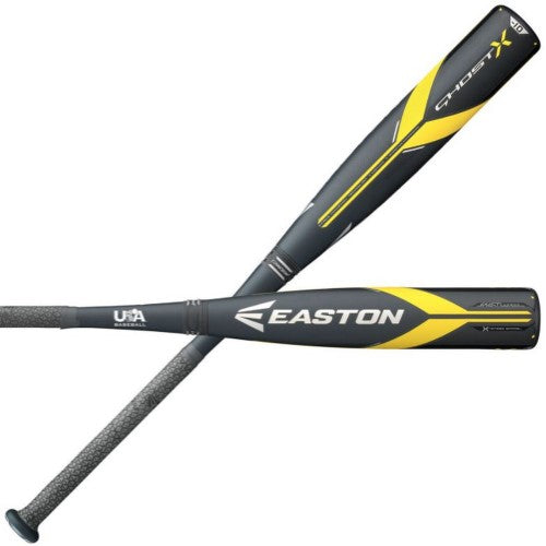 "Easton Ghost X 2018 2-5/8"" Barrel USA Baseball Bat -10"