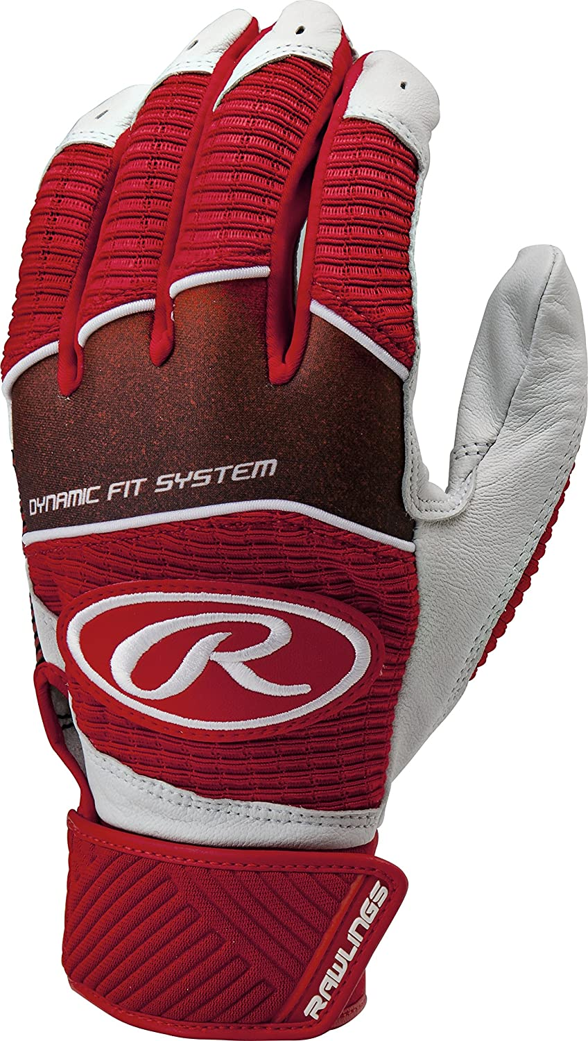 Rawlings WH950BGY Youth Workhorse Batting Gloves
