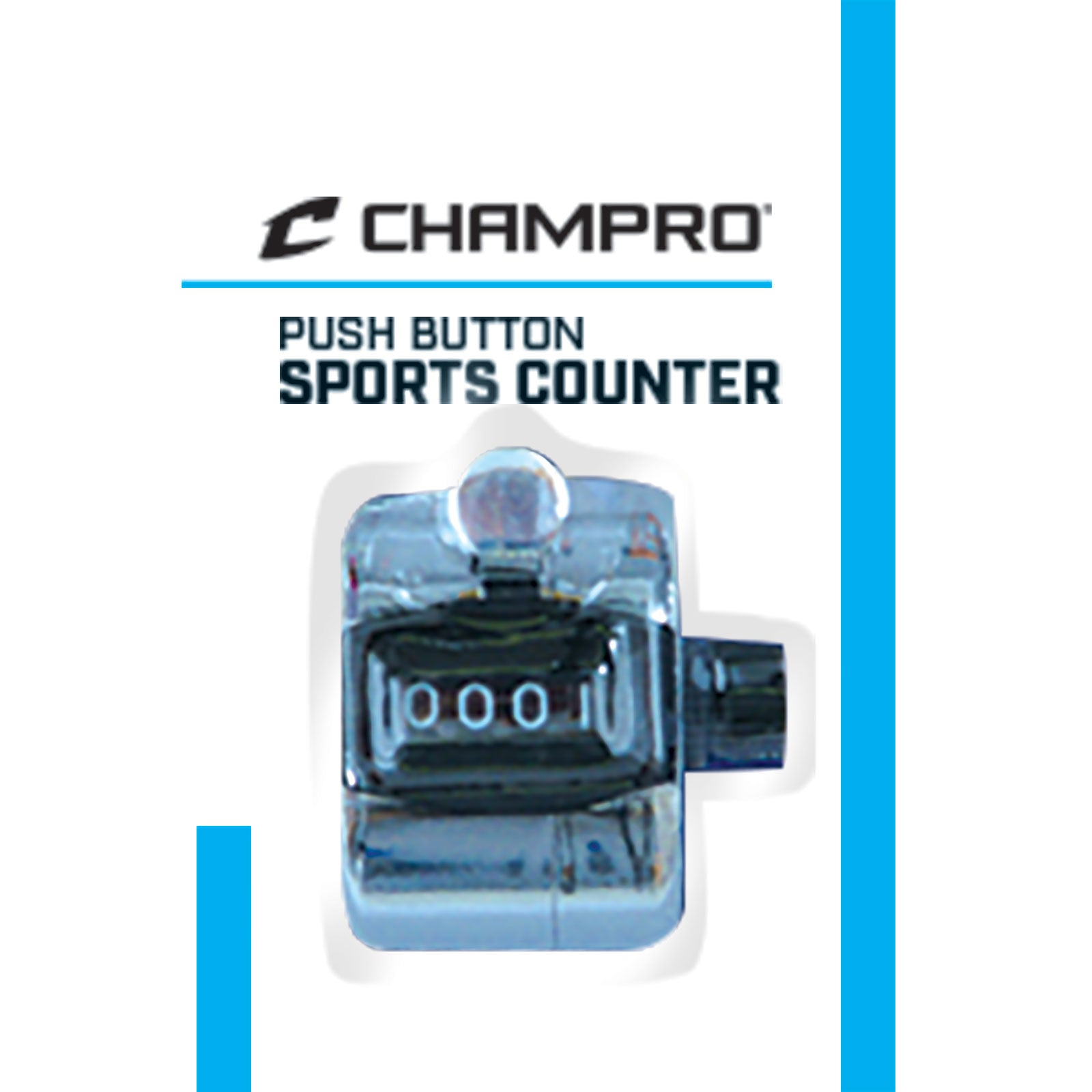 CHAMPRO PUSH BUTTON SPORTS COUNTER A021
