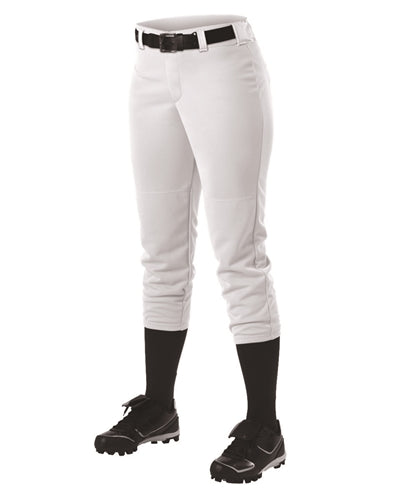 Alleson 605PBW Women's Ahtletic Fastpitch/Softball Belt Loop Pant