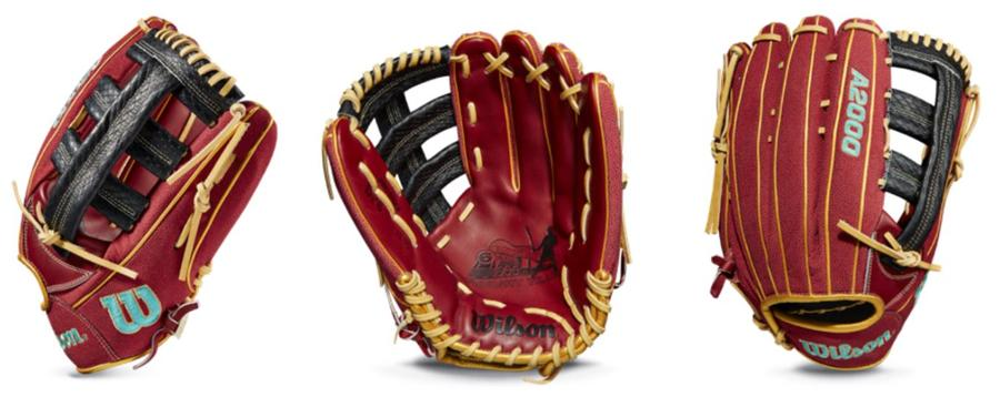 "Wilson A2000 April GOTM David Peralta Game Model Baseball Glove -Infield Right Hand Throw 12.75"" - WBW1003771275"