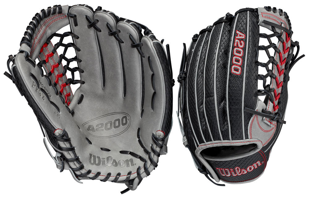 "Wilson 2021 A2000 Pedroia Fit PF92 12.25"" Glove Right Hand Throw"
