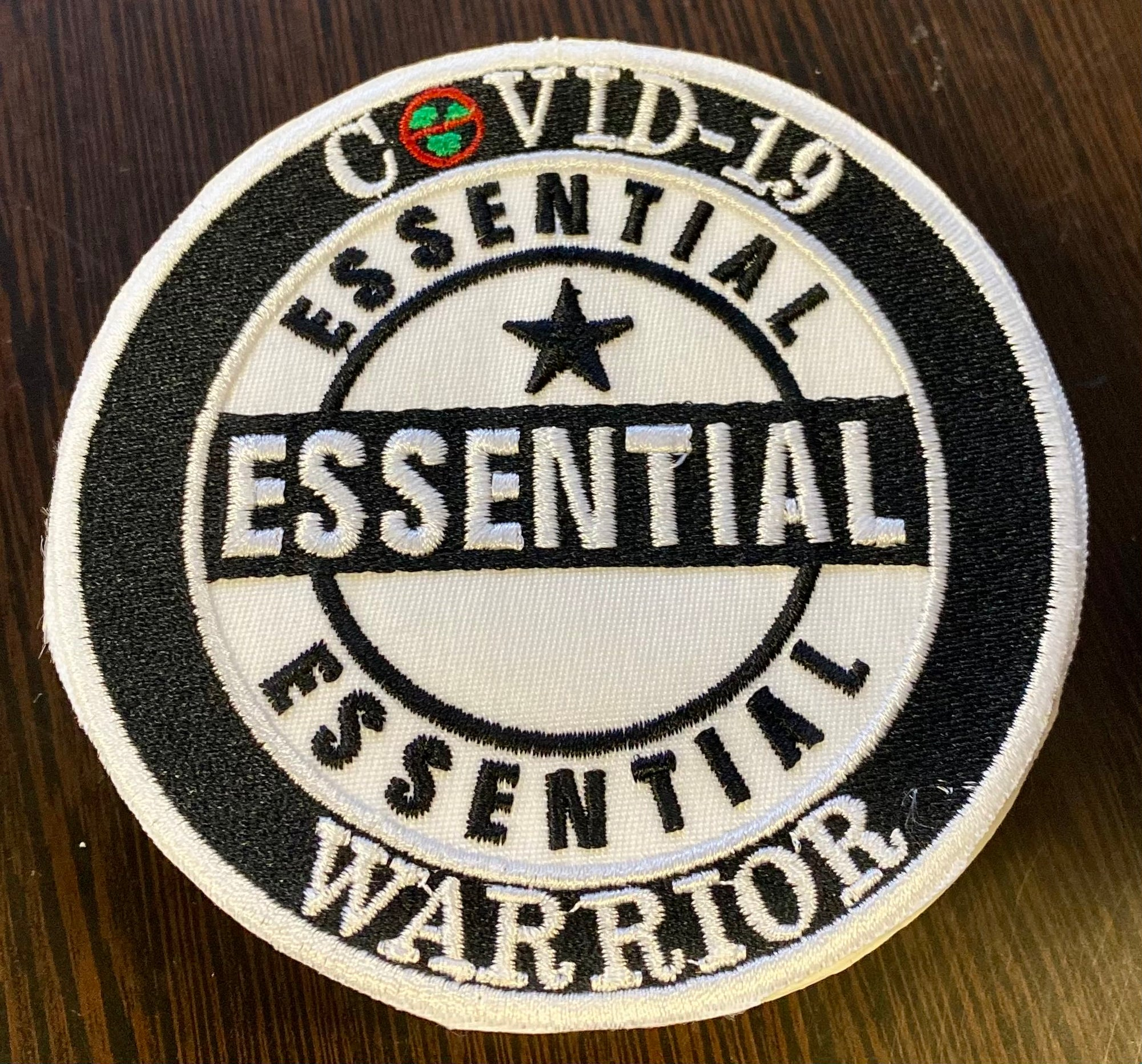COVID-19 Essential Warrior Patch