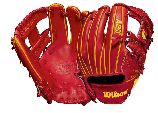 "Wilson 2021 A2K Ozzie Albies Game Model (Infield) 11.5"" Glove - Right Hand Throw"