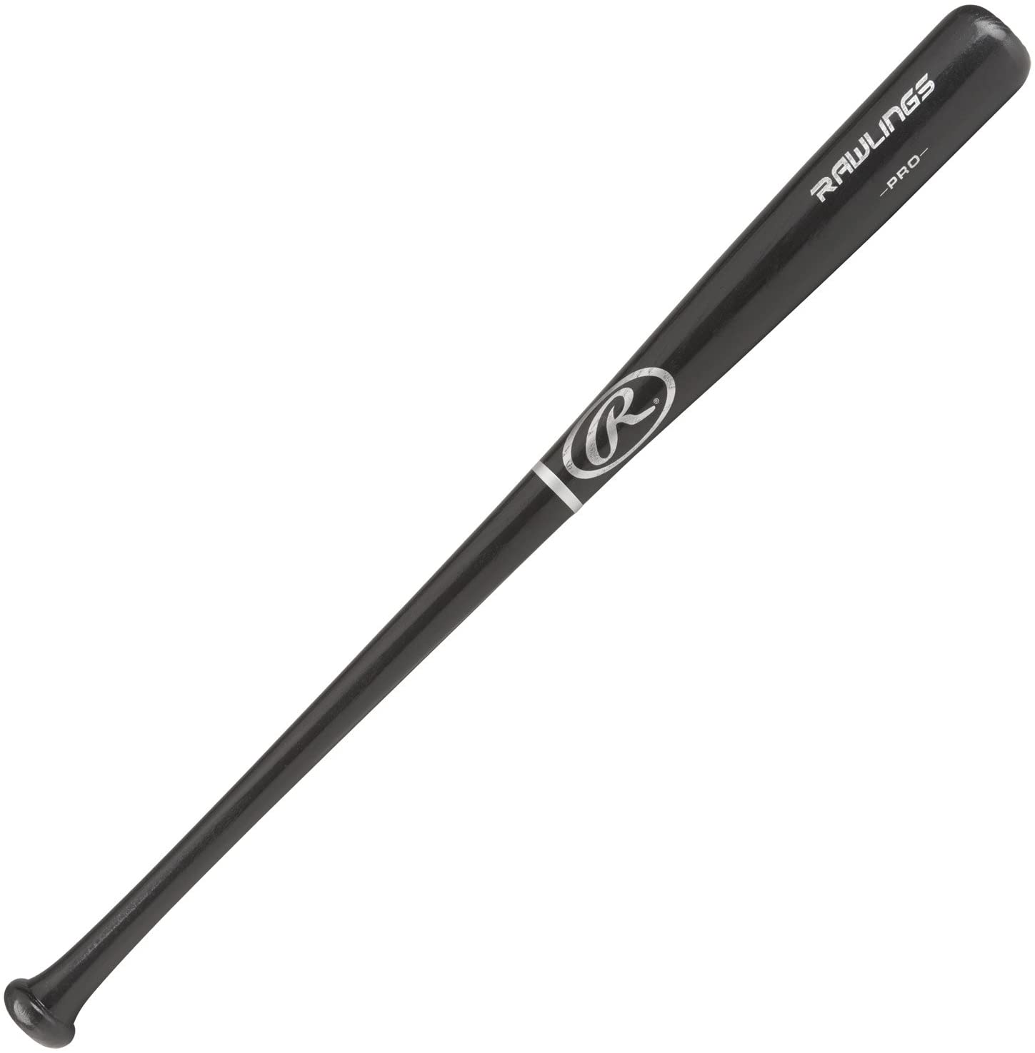 "Rawlings Adirondack Youth Wood Graphite Color 2-1/4"" Barrel Baseball Bat"