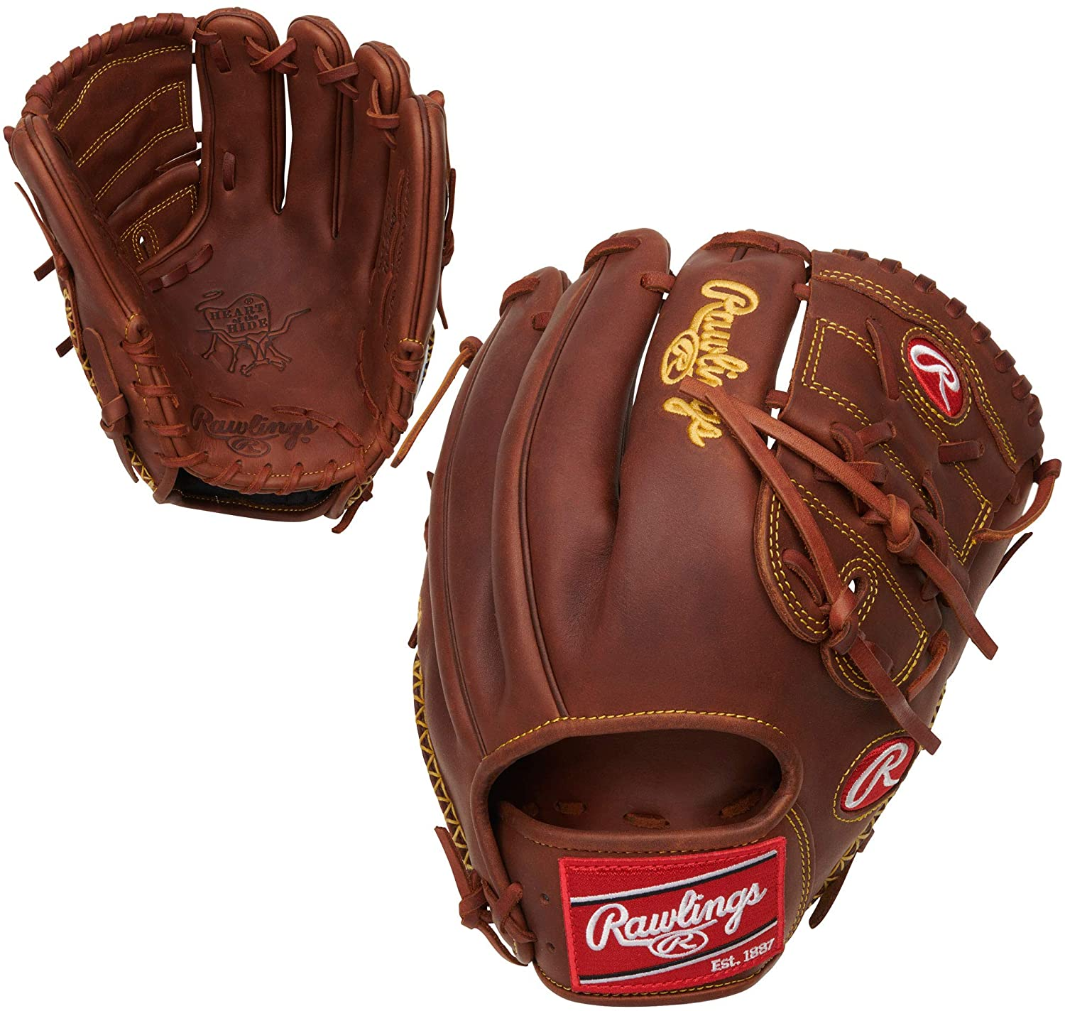 "Rawlings Heart of The Hide 11.75"" Glove PRO205-9TI"