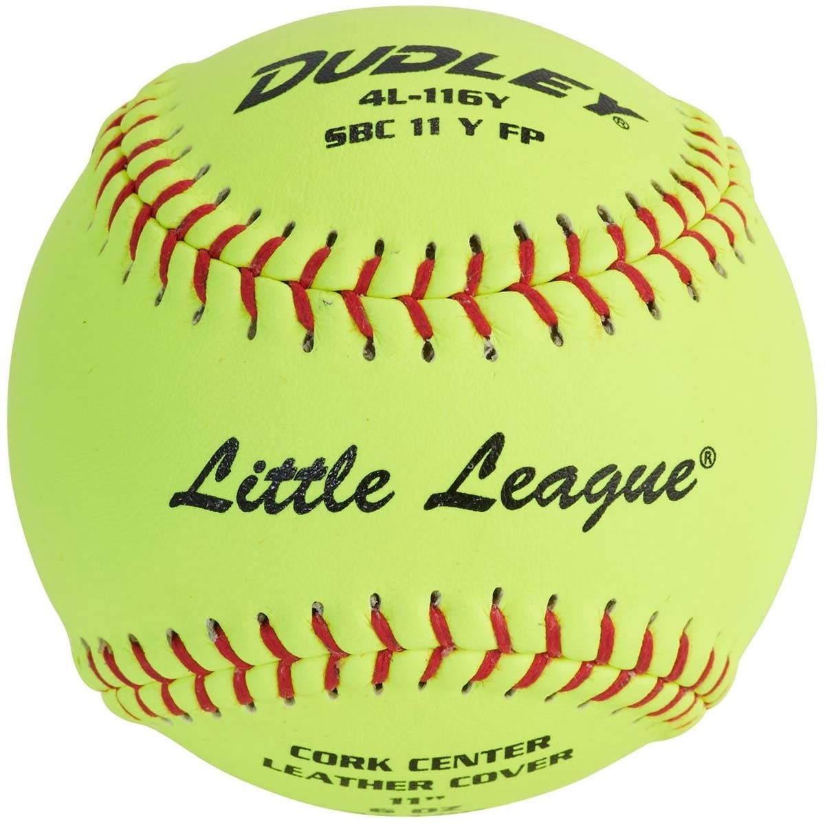 Dudley 4L-116Y Little League SB Fast Pitch Leather Soft Ball 11""