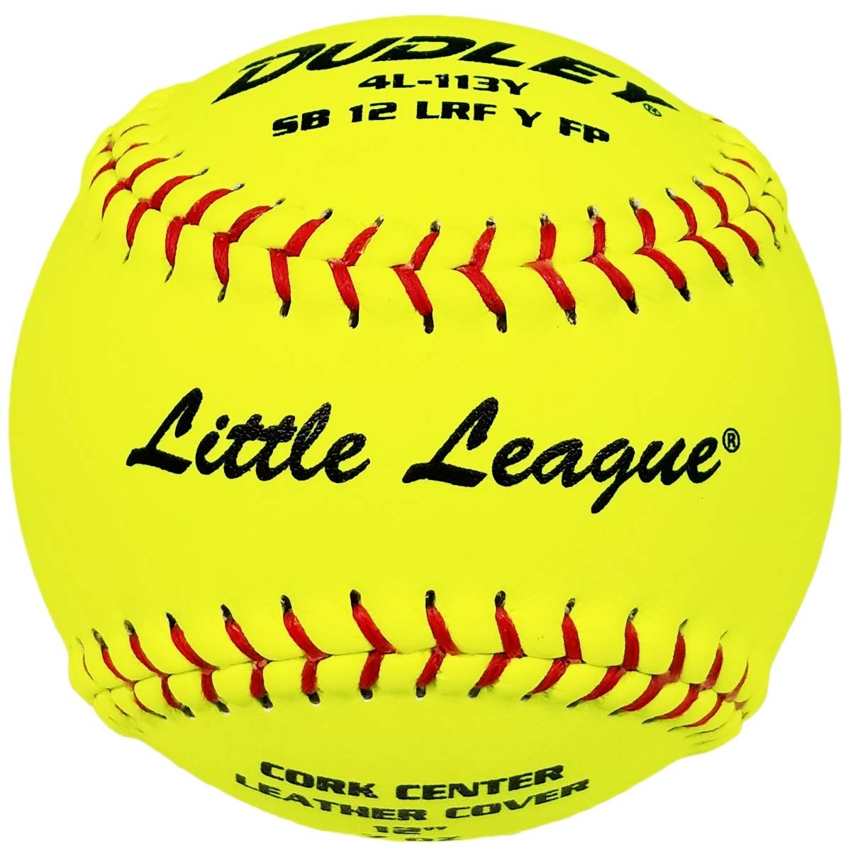 DUDLEY LITTLE LEAGUE .47 375 FASTPITCH SOFTBALLS 12 INCH - 4L113Y