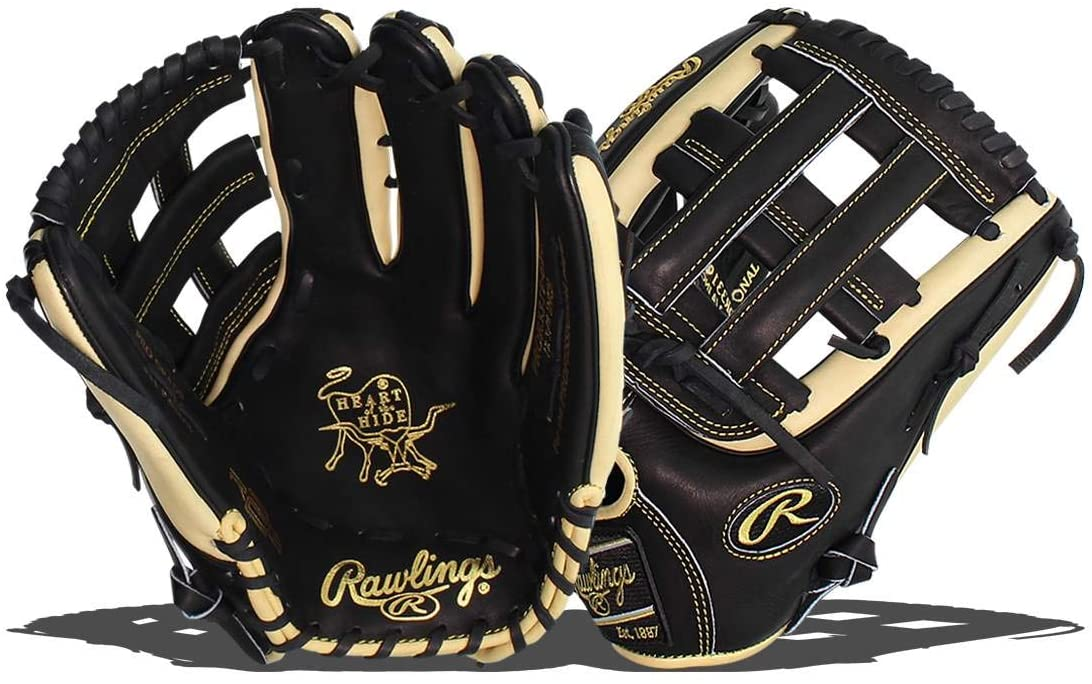 "Rawlings Heart of the Hide R2G 12.75"" Baseball Glove PROR3319-6BC - Left Hand Throw"