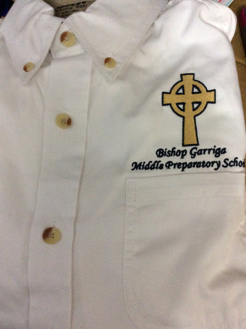 Bishop Garriga BAW Mass Button Down
