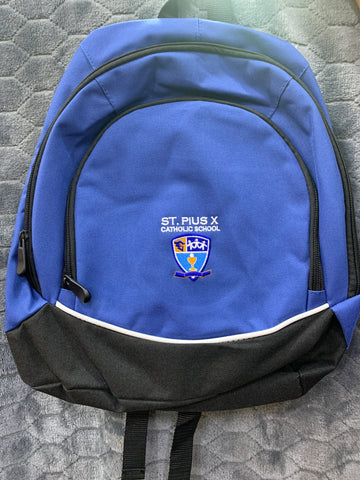 St Pius Small Tricolor Backpack