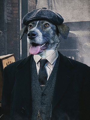 Peaky Blinders Pet Portraits