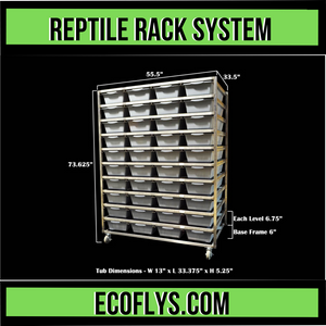 Reptile Rack Systems