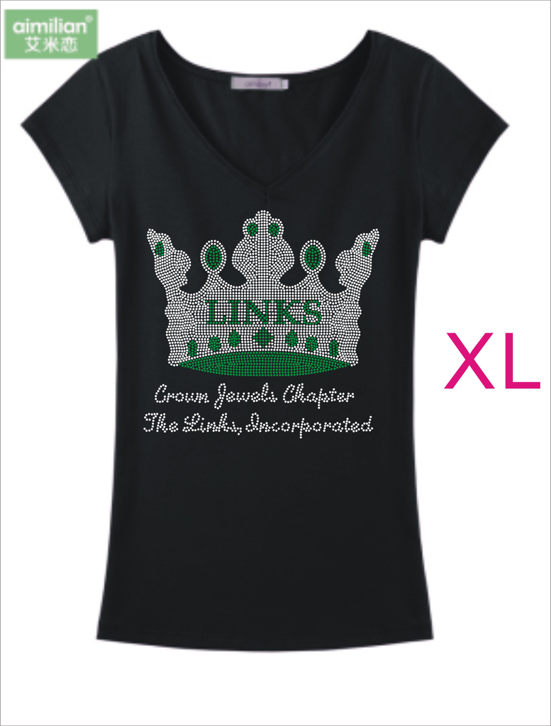 LINKS Emerald Crown Jewel T-Shirt