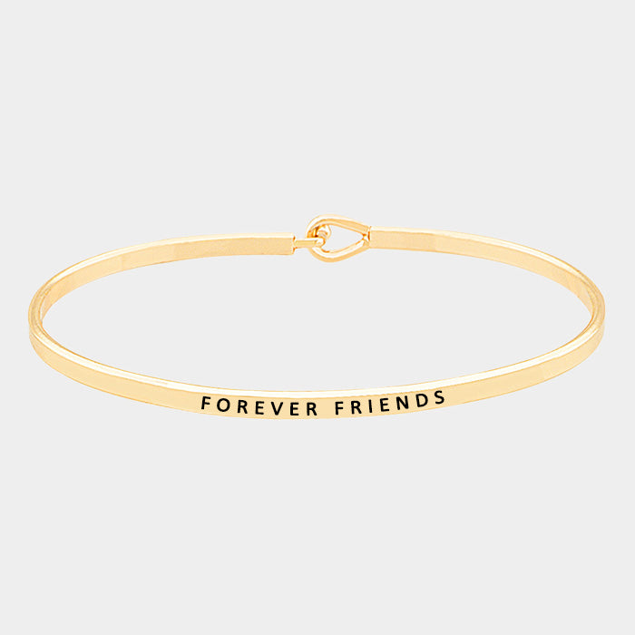 Beautiful Thin Metal Hook Friendship Bracelets (NEW)