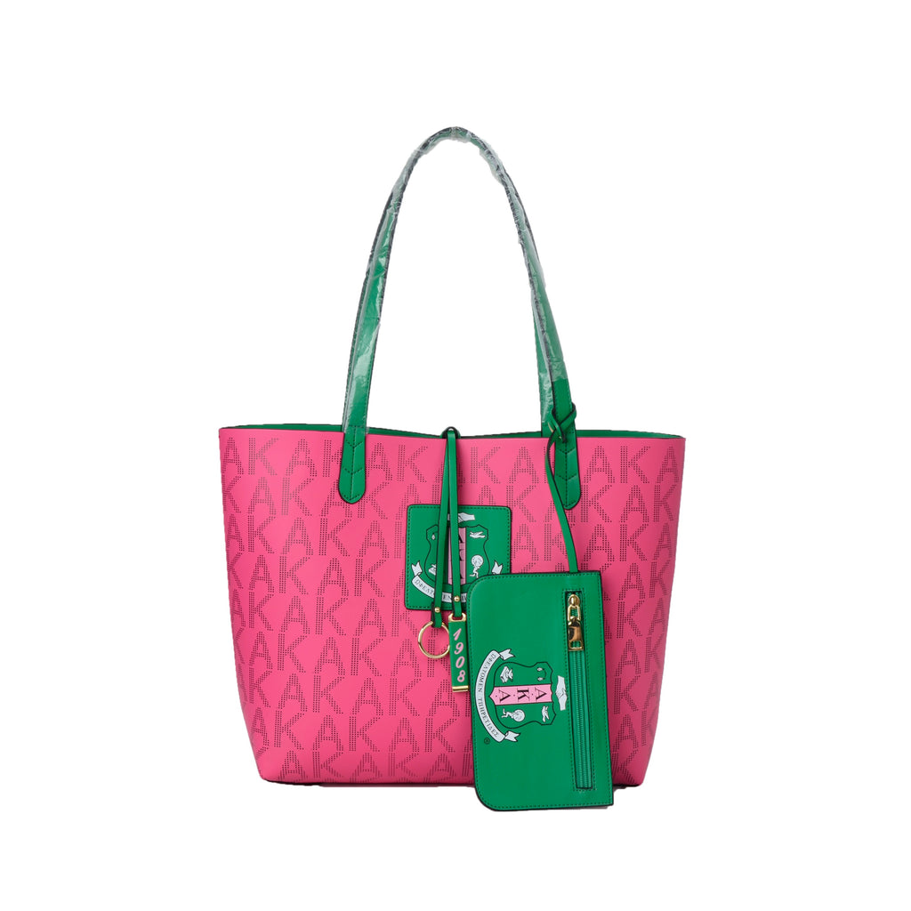"Our Beautiful AKA Pink ""Signature Bag of Elegance"""