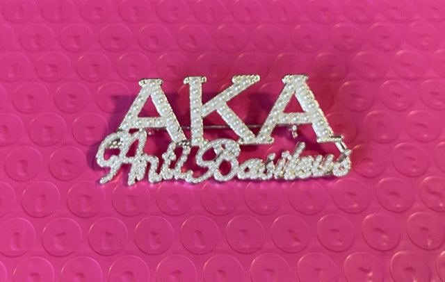 Beautiful AKA Anti-Basileus Pearl Pin (NEW)