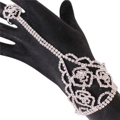 Beautiful Roses Handchain Bracelet