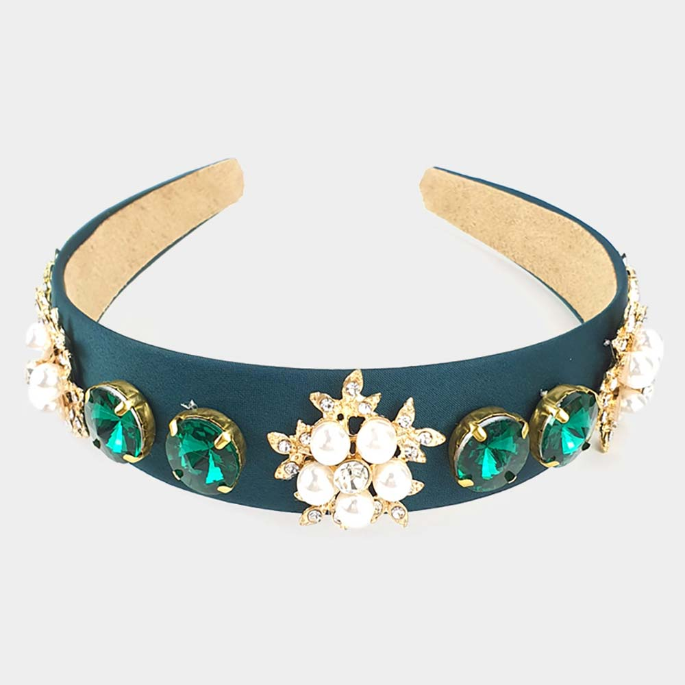 Beautiful LINKS Emerald Hairband (New)