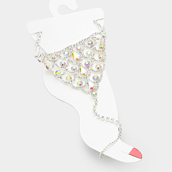 Beautiful Crystal Anklet Collection