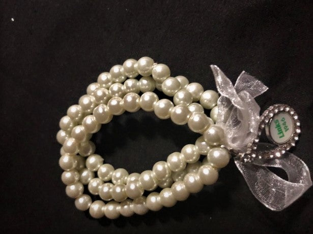 Beautiful LINKS Pearl Casual Dressy Bracelet