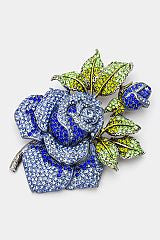 Beautiful CARATS & Jack & Jill Mom Swarovski Crystal Brooch Pin (New)