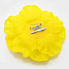 Beautiful CARATS Yellow Rose Silk Corsage