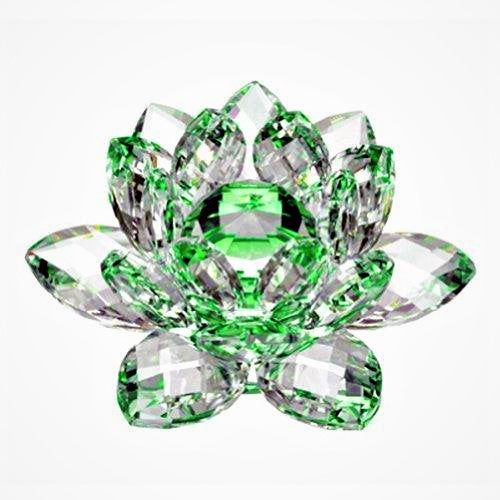 Beautiful Green Crystal Rose of Hope for LINKS, New