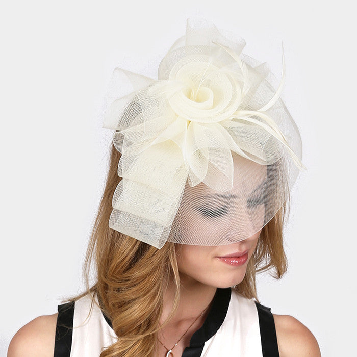 Beautiful Rose Collection Fascinator HATS