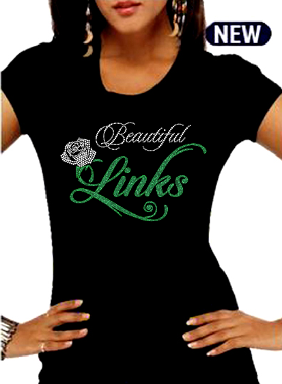BEAUTIFUL LINKS T-Shirt (New- High End)