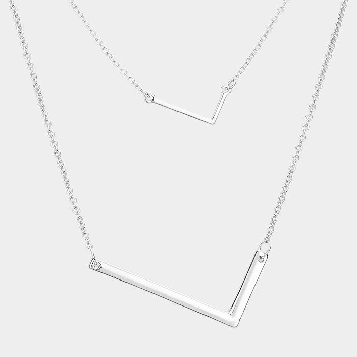 "Beautiful ""L"" Monogram Drop Necklaces"