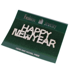 Happy New Year Pin