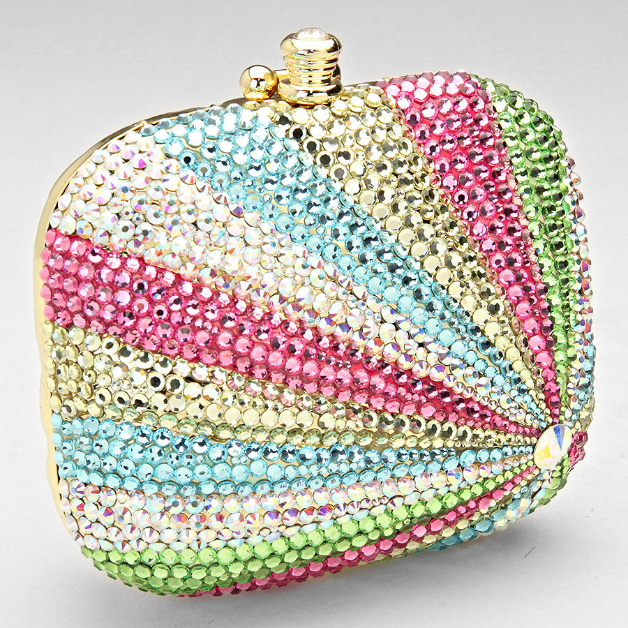 HIGH END HANDMADE CRYSTAL Evening Bag