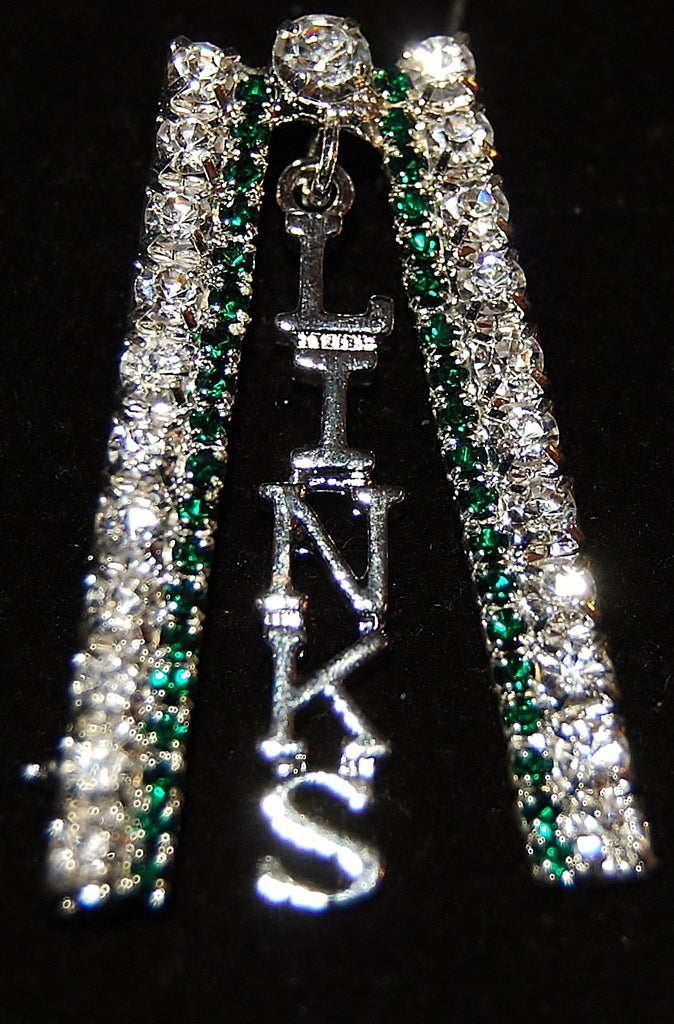 "LINKS ""Emerald Diamond"" Pin"
